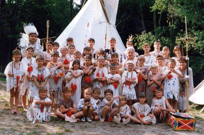 1993 letní tábor Ochozy malosi